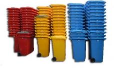 used bins